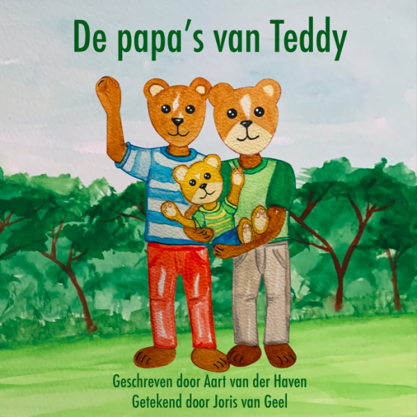 De papa's van Teddy